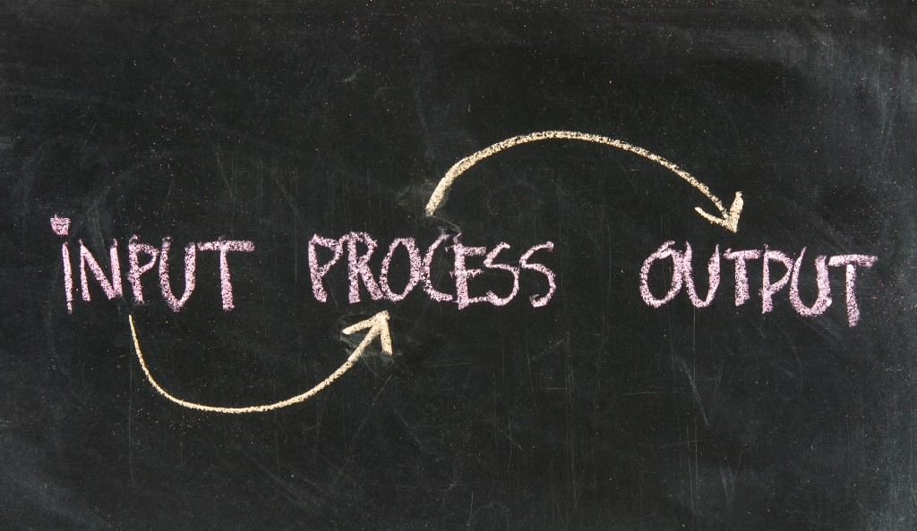 The INPUT & OUTPUT of product management