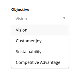 Customize Objectives